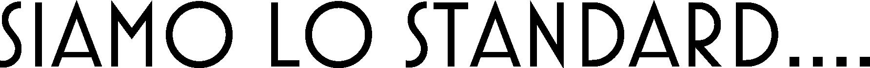 STANDARD CORSO ESAME DI STATO ARCHITETTO