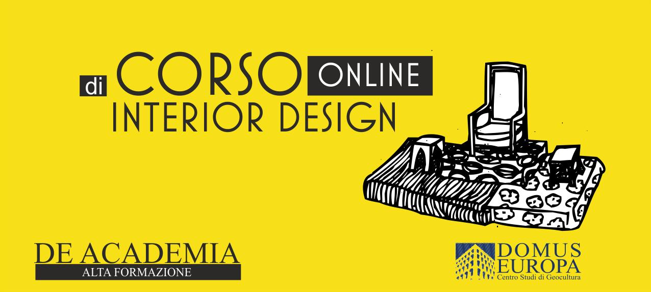 Corso interior design online frontale roma pescara for Corso interior design treviso