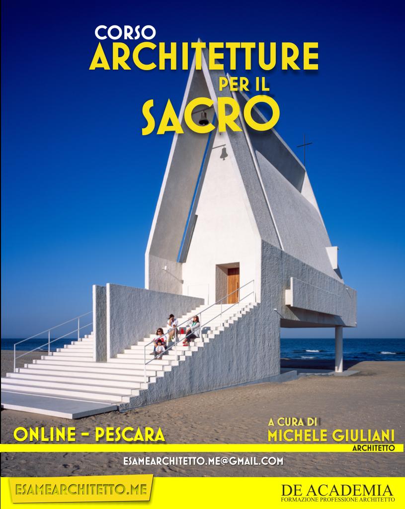 CORSO ARCHITETTURA SACRA
